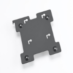 "Zebra KT-123358-01 12.1"" Black flat panel wall mount"