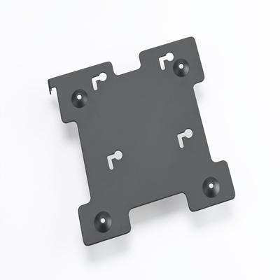 "Zebra KT-123358-01 12.1"" Black flat panel wall mount"