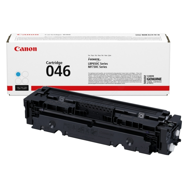 Canon 1249C002 (046) Toner cyan, 2.3K pages