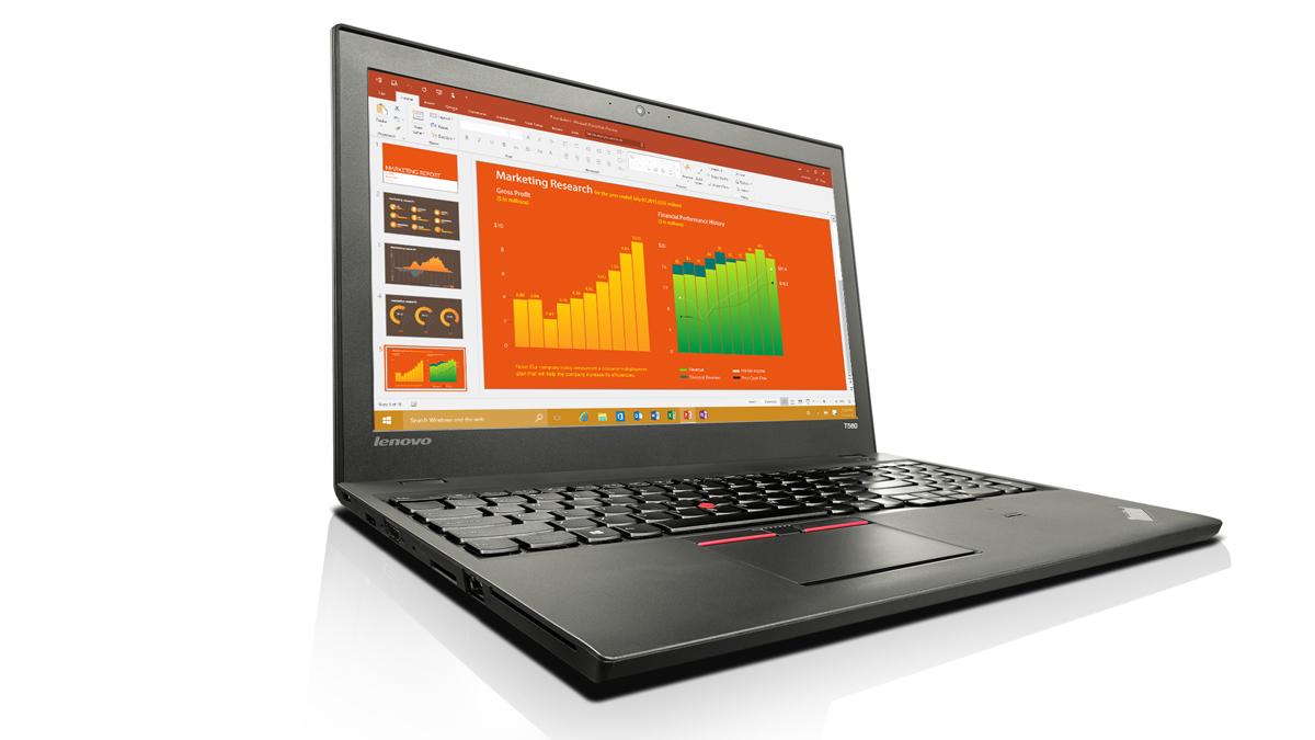 "Lenovo ThinkPad T560 2.3GHz i5-6200U 15.6"" 1920 x 1080pixels Black Notebook"