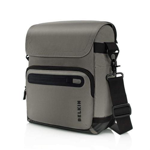 Belkin Dash Vertical Messenger for 12 inch Laptop (Grey/Black)
