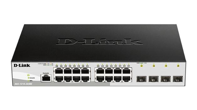 D-Link DGS-1210/ME Gestionado L2 10G Ethernet (100/1000/10000) Negro