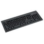 Fellowes Microban USB QWERTY keyboard