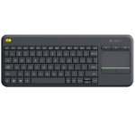 Logitech K400 Plus RF Wireless Black keyboard