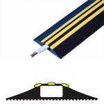 Cablenet Danger 3 Metre (16mm x 8mm) Black/Ylw