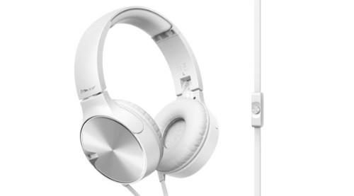 Pioneer SE-MJ722T-W Head-band Binaural Wired White mobile headset