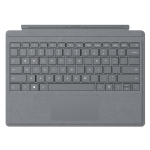 Microsoft Surface Go Type Cover teclado para móvil QWERTY Platino Microsoft Cover port