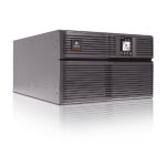 Vertiv Liebert GXT4 Double-conversion (Online) 6000VA 8AC outlet(s) Rackmount/Tower Black uninterruptible power supply (UPS)