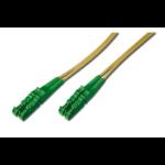 ASSMANN Electronic E2000-E2000,30m Glasvezel kabel OS2 E-2000 Yellow,Green