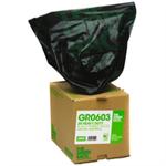 GREENSACK GREEN SACK CUBES BLK RUBBLE PK30