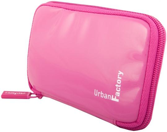 Urban Factory HDD14UF storage drive case Vinyl Pink