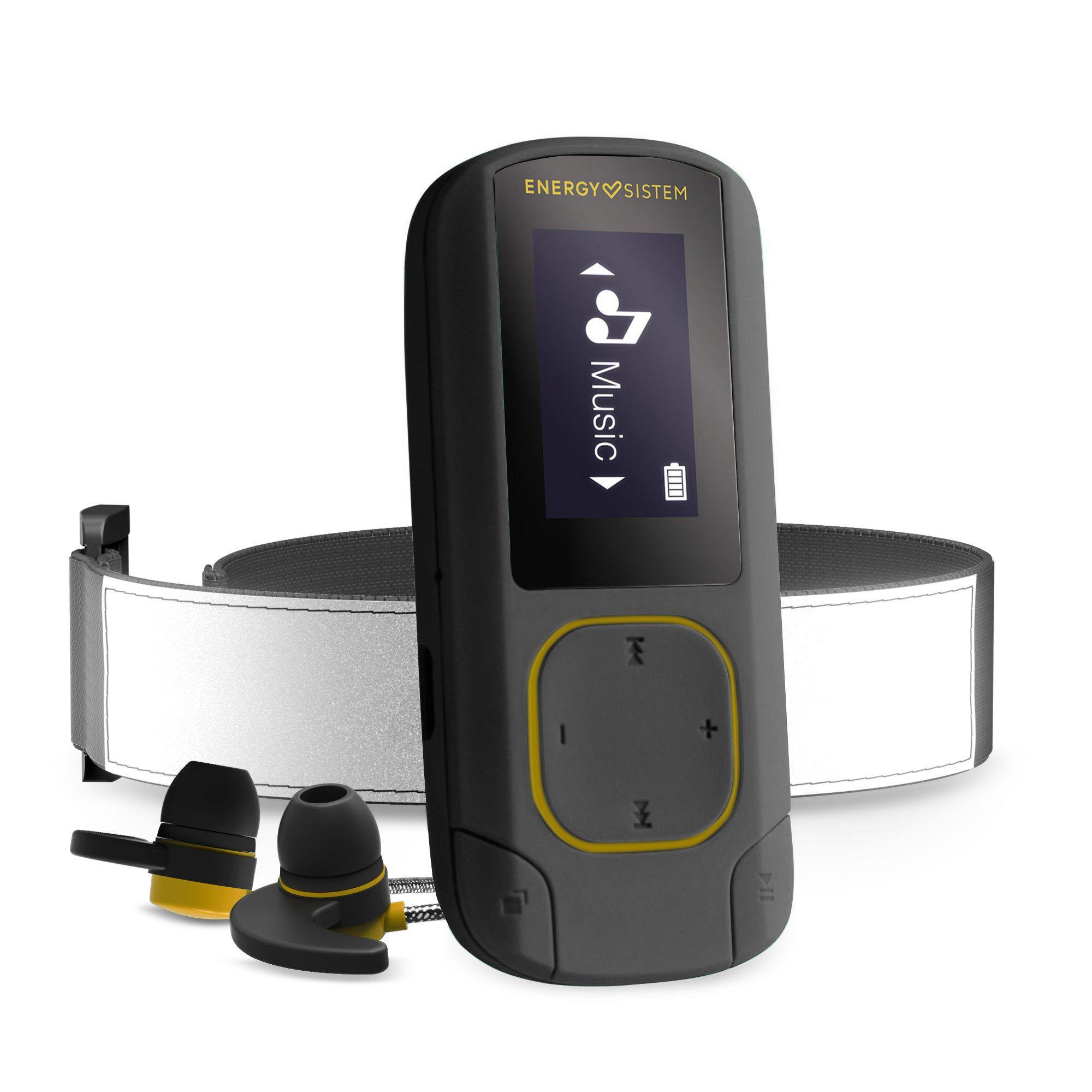 Energy Sistem MP3 Clip BT Sport Amber Reproductor de MP3 Ámbar 16 GB