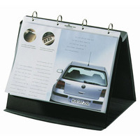 Durable Durastar flip chart Freestanding PVC Graphite,Grey