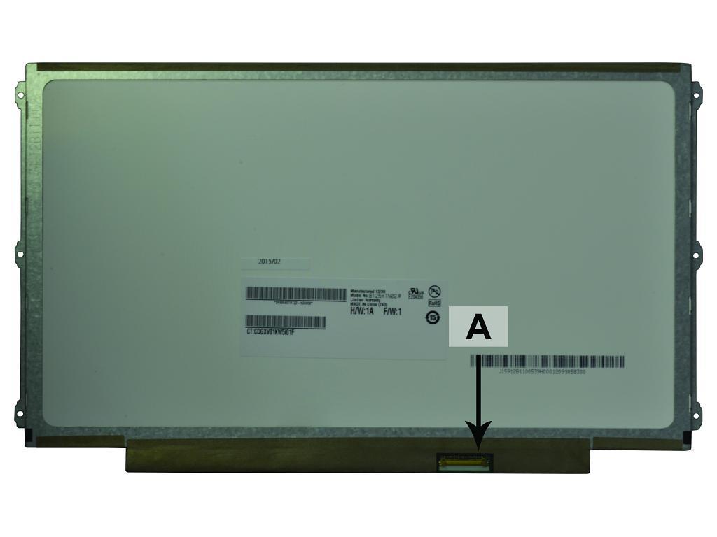 LCD Panel Replacement 12.5in WXGA HD 1366x768 LED Matte (SCR0498B)