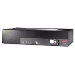 APC Rack ATS, 230V, 32A, IEC309 in, (16)C13 (2)C19 out Black power distribution unit (PDU)