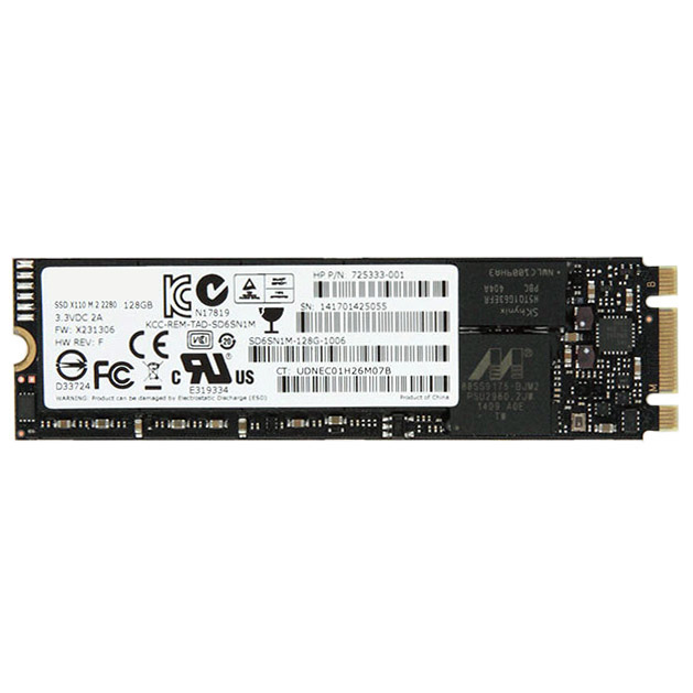 HP 766636-001 internal solid state drive 256 GB Serial ATA III M.2