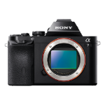 Sony α7 Full-frame ILC body only (no lens included)