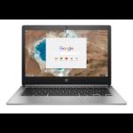 "HP Chromebook 13 G1 Silver 33.8 cm (13.3"") 3200 x 1800 pixels Intel® Core™ M 8 GB LPDDR3-SDRAM 32 GB Flash Wi-Fi 5 (802.11ac) Chrome OS"