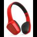 Energy Sistem 428359 auricular y casco Auriculares Diadema Conector de 3,5 mm Bluetooth Rojo