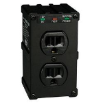 Tripp Lite Ultrablok428 Black 2 AC outlet(s) 120 V