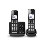 Panasonic KX-TGD322E DECT Caller ID Black