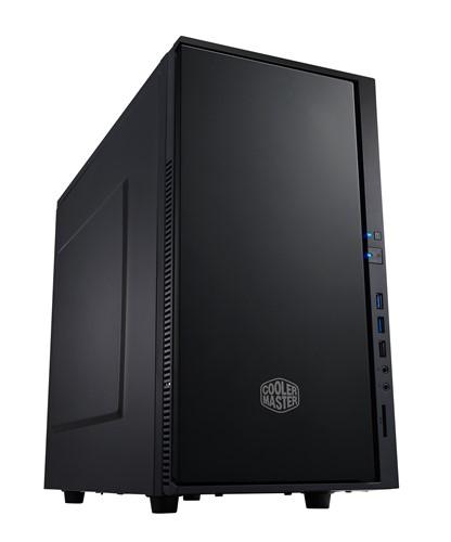 Cooler Master Silent Silencio 352 computer case Micro-Tower Black