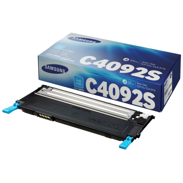 Samsung CLT-C4092S/ELS C4092S Toner cyan, 1000 pages @ 5 coverage