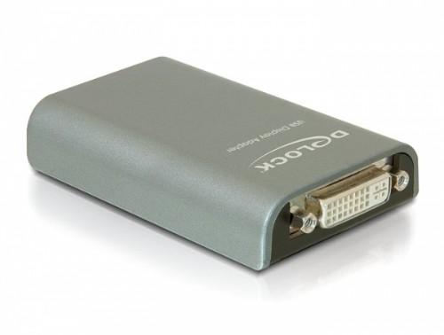 DeLOCK 61787 USB graphics adapter Grey