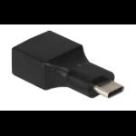 QVS CC2231MFA cable gender changer USB Type C USB Type A Black