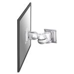"Newstar TV/Monitor Wall Mount (2 pivots & tiltable) for 10""-30"" Screen - Silver"