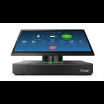 "Lenovo ThinkSmart Hub 500 29.5 cm (11.6"") 1920 x 1080 pixels Touchscreen 7th gen Intel® Core™ i5 8 GB DDR4-SDRAM 128 GB SSD Windows 10 IoT Enterprise Wi-Fi 5 (802.11ac) All-in-One PC Black"