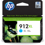 HP 3YL81AE (912XL) Ink cartridge cyan, 825 pages, 10ml