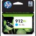 HP Cartucho de tinta Original 912XL cian de alta capacidad