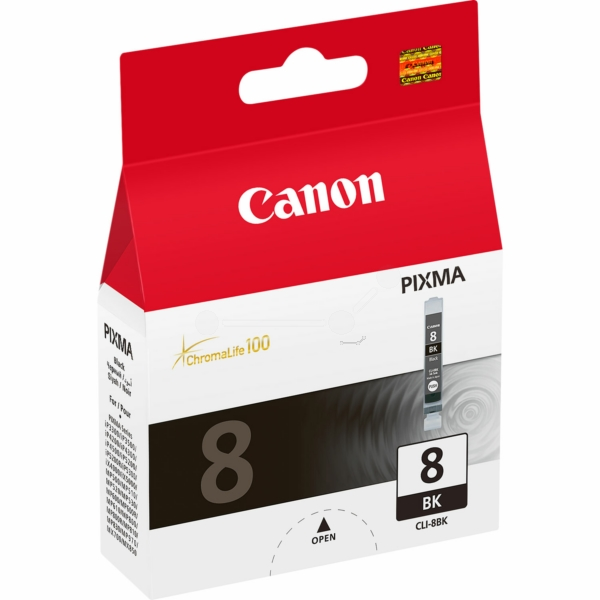 Canon 0620B001 (CLI-8 BK) Ink cartridge black, 400 pages, 13ml
