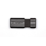 Verbatim PinStripe 4GB USB flash drive USB Type-A 2.0 Black