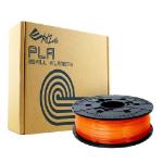 XYZPrinting XYZ PLA Clear Tangerine Refill 1 75mm RFPLBXEU07E