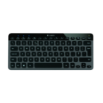 Logitech K810 Bluetooth Zwart, Grijs toetsenbord