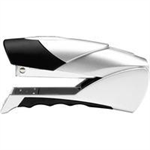 Rexel Gazelle Half Strip Stapler Silver/Black