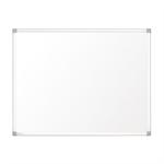 Nobo Prestige Enamel Magnetic Whiteboard w/ Aluminium Trim