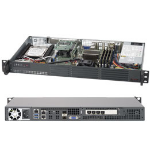 Supermicro SuperServer 5018D-LN4T Intel SoC BGA 1667 1U Black