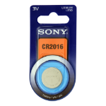 Sony CR2016B1A rechargeable battery