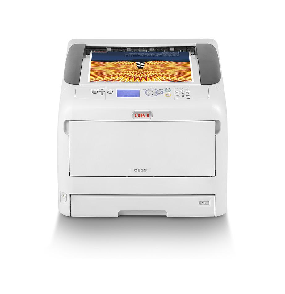 C833dn - Color Printer - LED - A3 - USB / Ethernet - Duplex