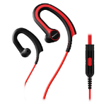 Pioneer SE-E711T Ear-hook Binaural Wired Black,Red mobile headset