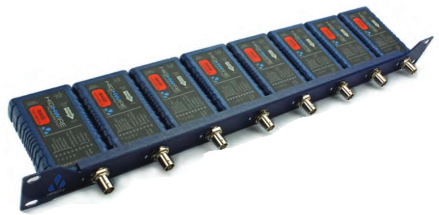 1u Rack-mount Bracket For Highwire Or Highwire Poe