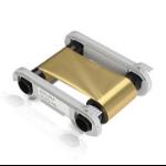 Evolis RCT016NAA Gold printer ribbon