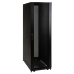 Tripp Lite 42U SmartRack Shallow-Depth Rack Enclosure Cabinet with doors & side panels
