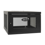 Tripp Lite SmartRack 6U Low-Profile Switch-Depth Knock-Down Wall-Mount Rack Enclosure Cabinet