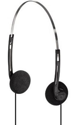 Hama HK-5644 Supraaural Head-band Black,Silver