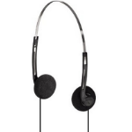 Hama HK-5644 Black,Silver Supraaural Head-band headphone