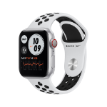 Apple Watch Series 6 Nike OLED 40 mm Silver GPS (satellite)
